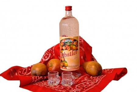 Obstler 38% in Glasflasche 1,0l