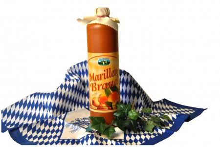 Marillenbrand 40% im Tonkrug 1,0l